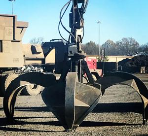 Heavy Equipment Grapple
